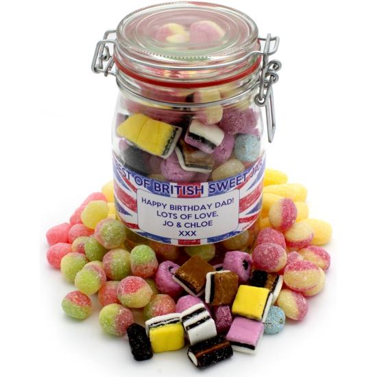 Best of British Sweet  Jar