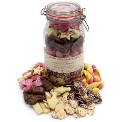 Candy Chocolate Bumper Sweet Jar
