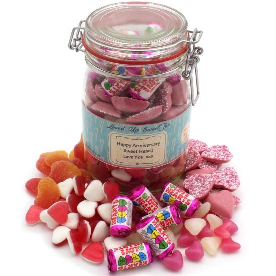 Loved Up Sweet Jar