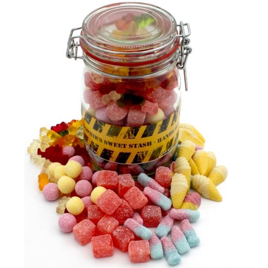 Personalised Pick & Mix Sweet Jar