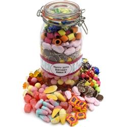 Personalised Pick & Mix Bumper Sweet Jar