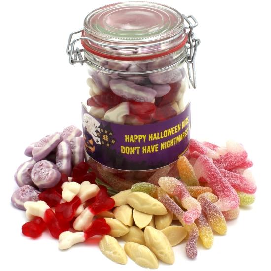 Personalised Trick Or Treat Sweet Jar