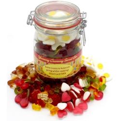 Yummy Gummy Haribo Sweet Jar