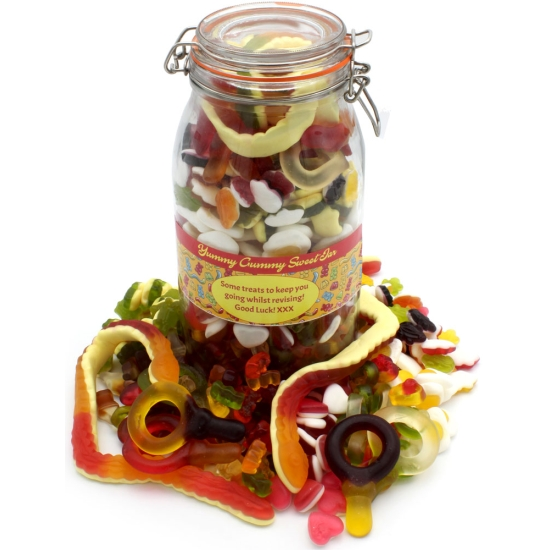 Yummy Gummy Haribo Bumper Sweet Jar
