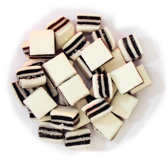 Black & White Liquorice Mints