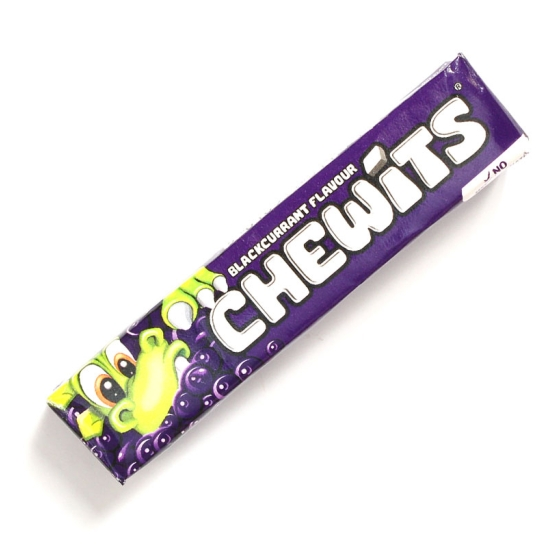 Blackcurrant Chewits - 4 Packs