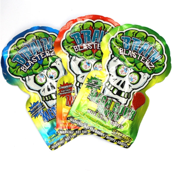 Brain Blasterz Sour Powder- 3 Packs