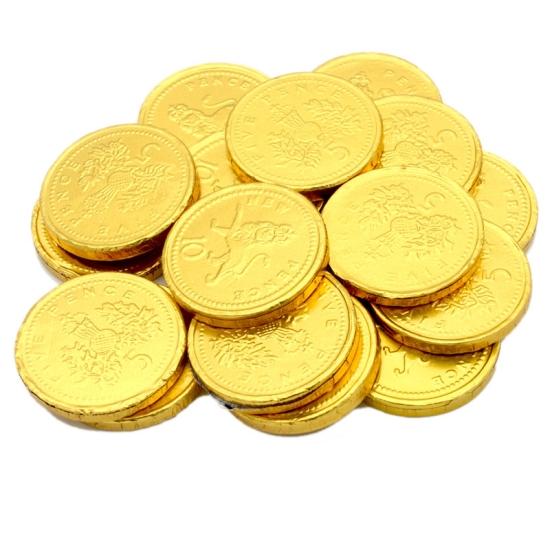 Milk Chocolate Coins - 100g