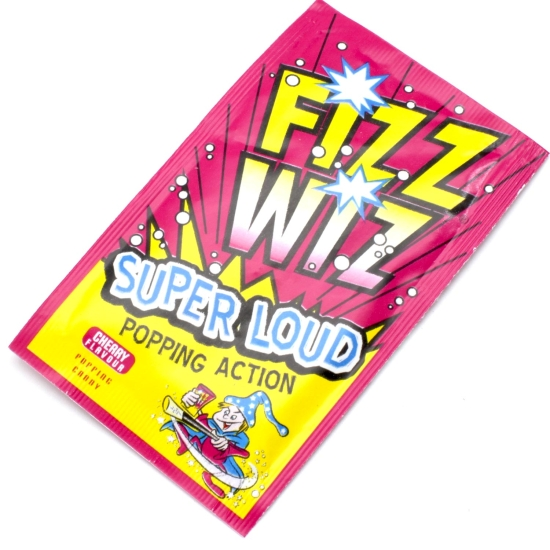 Fizz Wiz Cherry Popping Candy - Case of 50
