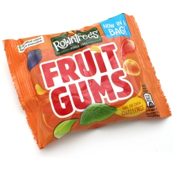 Rowntree's Fruit Gums - 3 Bags