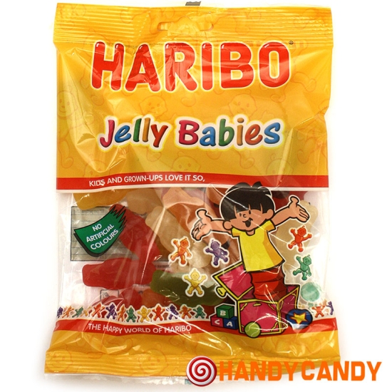 Haribo Jelly Babies Bag