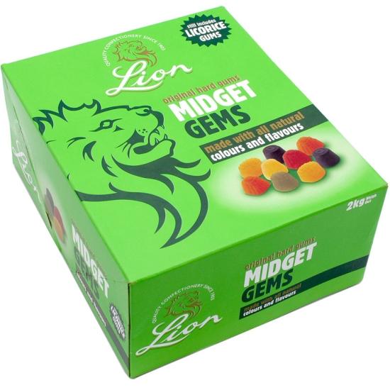 Lion's Midget Gems - 2kg Case