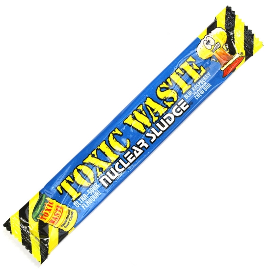 Toxic Waste Bar Sour Raspberry - 8 Bars