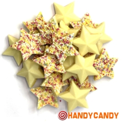 White Candy Stars